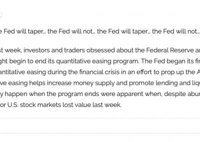 Financial Market Commentaries